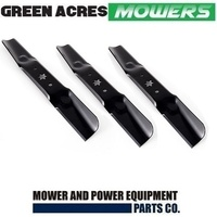 "3 X RIDE ON MOWER BLADES FOR 50"" CUB CADET SELECTED MOWERS 742-05052A"