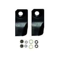 BLADE SET  FOR VICTA PRO 12 & PRO 16 RIDE ON MOWERS CA094055S , CAO92772
