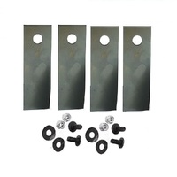 LAWN MOWER BLADE SET FOR COX CRUSADER MOTORS
