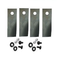 BLADE KIT FOR ROVER  MOWERS       XHT HARDERNED BLADES