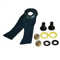 LAWN MOWER BLADE KIT FOR VICTA SIDE DISCHARGE MOWERS CA09350S