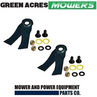 X4 BLADES VICTA UTILITY SIDE DISCHARGE MOWERS PRO 460 MASTERCUT 460 CA09351