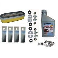 LAWNMOWER SERVICE KIT FOR HONDA HRU194 , HRA214 MOWERS WITH GXV120 GXV140 MOTORS