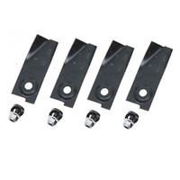 "2 X BLADE KITS FOR 21"" PLP BUSHRANGER MOWERS 590013 , 539327"