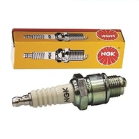 LAWNMOWER SPARK PLUG NGK BPM6A PLUG FOR SELECTED CHAINSAWS TRIMMERS