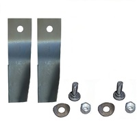 BLADE KIT 2 BLADES AND BOLTS FOR 28 INCH COX RIDE ON MOWER  SKIT33