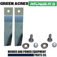 BLADE KIT FOR 32 INCH COX RIDE ON MOWER SKIT55 , MB198ADH LAWNBOSS ORION XL NOVA