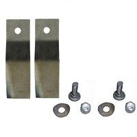 RIDE ON MOWER BLADES FOR 25 INCH COX  SKIT39