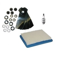 "Servive Kit Fits Selected 18"" Masport Lawn mower Quantum Motor Cusion Cut Blades 529594 491588"