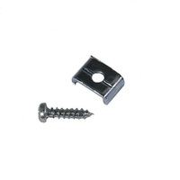 CABLE CLAMP WITH SCREW FOR BRIGGS AND STRATTON LAWN MOWER