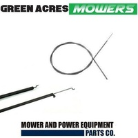 THROTTLE CONTROL CABLE FOR ROVER MOWERS 1060mm