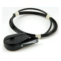 "UNIVERSAL THROTTLE CABLE AND CONTROL FOR LAWN MOWER 51"" WITH Z-BEND FOR FITMENT SUITS VICTA MASPORT ROVER"