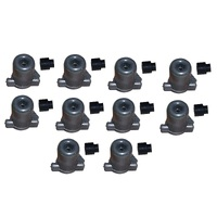 10 x STOP SWITCH CUT OUT PLUG AND COVER FOR VICTA POWER TORQUE MOTORS