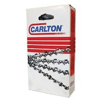 "5 X CARLTON CHAINSAWS CHAIN FITS SELECTED 16"" BAR HOMELITE 58 3/8 LP"