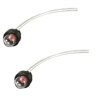 2 X Primer Bulb & Fuel Hose Line for Chainsaws Brushcutters Trimmer Blowers