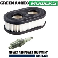 AIR FILTER & SPARK PLUG BRIGGS & STRATTON 5000E 500EX 550E 550EX MOTORS 798452