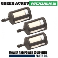 3 x FUEL LINE FILTER FITS SELECTED McCULLOCH , RYOBI , TALON AND ZAMA CARBS  ZF1