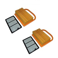 2 x AIR FILTER KITS FITS STIHL TS410 TS420 4238 141 0300 , 4238 140 1800