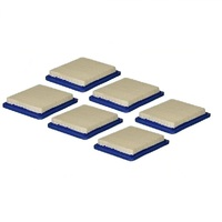 6 X LAWN MOWER AIR FILTERS FOR BRIGGS & STRATTON QUANTUM MOTORS