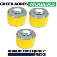 3 X WATER PUMP AIR FILTER HONDA GX110 GX120 GX140 GX160 GX200 17210-ZE1-821