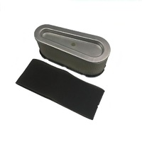 RIDE ON MOWER AIR FILTER KIT FOR 12 ,12.5  HP BRIGGS AND STRATTON MOTORS 496894S