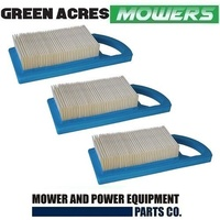 3 X Air Filter for Briggs and Stratton 10 - 12.5HP Short type 697152 , 613022 ,698413 , 797007