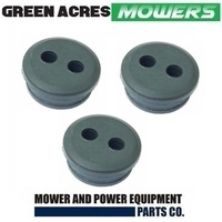 3 X FUEL TANK GROMMENT 2 HOLES FOR SELECTED HONDA TRIMMER BRUSHCUTTER 17504-ZM3-003