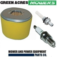 AIR FILTER SPARK PLUG FUEL FILTER FOR HONDA GX240 GX270 GX340 GX390 MOTORS 17210-ZE3-010