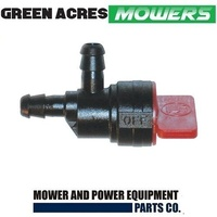 INLINE FUEL TAP FITS LAWN MOWERS AND RIDE ON MOWERS BRIGGS TECUMSEH HONDA  494769