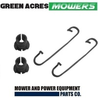 AXLE KIT ROVER LAWNMOWER  2 X BUSHES AND 2 X CLIPS
