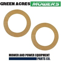 2 X DRIVE DISC CORKS CLUTCH LINING FOR GREENFIELD FASTCUT EVOLUTION GT6012