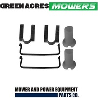 AXLE REPAIR KIT FOR VICTA LAWN MOWERS   2 BUSHES , CLIPS AND BODY REPAIR SPACERS