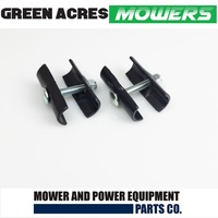 2 X  LOWER HANDLE SADDLE & BOLT ASSEMBLIES FOR VICTA LAWN MOWERS   CH80854