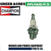 LAWN MOWER SPARK PLUG CHAMPION CJ6  FOR SELECTED MOWERS CHAINSAWS TRIMMERS