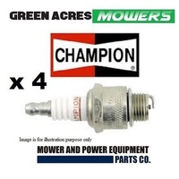 WHIPPER SNIPPER CHAINSAW SPARK PLUGS CHAMPION   4 PAC CJ7Y