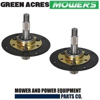 2 X RIDE ON MOWER SPINDLE ASSY FOR MTD  MOWERS  717-0906A , 917-0906A , 753-05319