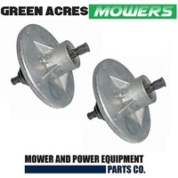 2 X RIDE ON MOWER BLADE SPINDLE ASS FOR MURRAY,VIKING & ROVER  MOWERS