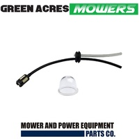 FUEL LINE PICK UP HOSE TANK GROMMET KIT + PRIMER RYOBI HOMELITE TALON MITSUBISHI