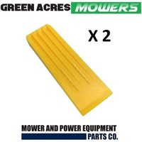 2 PAC OF 11 1/2 INCH CHAINSAW TREE FELLING AND SPLITTING WEDGES