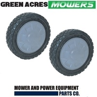 2 X REAR SELF PROPELLED LAWN MOWER WHEEL FOR HONDA HRU196 HRU216 44810-VK3-640
