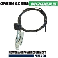 "HEAVY DUTY METAL THROTTLE CONTROL CABLE ROVER MASPORT VICTA LAWNMOWER 71 "" inch"