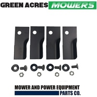 HEAVY DUTY BLADE KIT FOR ROVER MOWERS XHT HARDERNED BLADES A03830 A01118K