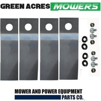 LAWNMOWER BLADE KIT FOR HONDA LAWN MOWERS LOW FLUTE
