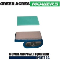 AIR & PRE FILTER FITS SELECTED KAWASAKI & JOHN DEERE 15-17HP MOWERS 11013-7002
