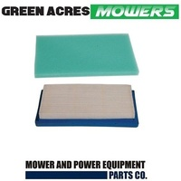 AIR & PRE FILTER FITS SELECTED KAWASAKI 13-15HP MOWERS 11013-7017 , 11013-7016