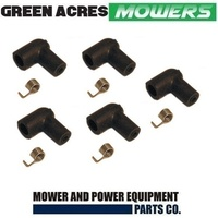 5 X SPARK PLUG COVER FOR CHAINSAWS & TRIMMERS VICTA MOWERS 5mm BOOT
