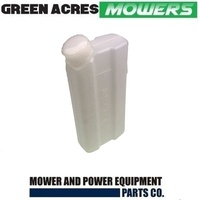 1 LITRE MIXING BOTTLE 50:1 RATIO FOR 2 STROKE LAWN MOWERS TRIMMERS BRUSHCUTTERS