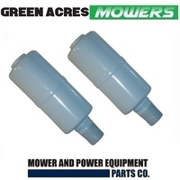 2 X MUFFLER FITS 5,6,7& 8 HP BRIGGS AND STRATTON MOTORS  294599