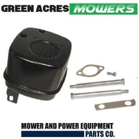 RIDE ON MOWER MUFFLER FIT 10,11,12.5 HP BRIGGS AND STRATTON MOTORS 691874 394170