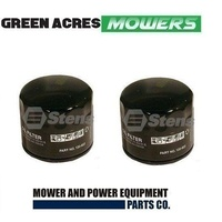 2 X RIDE ON MOWER OIL FILTERS FOR TECUMSEH  MOTORS 36563 , 36961 , 740057